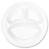 Dart Concorde® Foam Plates DRC 10CPWC