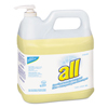 cleaning chemicals, brushes, hand wipers, sponges, squeegees: All® Free Clear HE Liquid Laundry Detergent