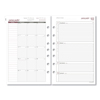 Day Runner Weekly Planning Pages Refill, 5 1/2 x 8 1/2, 2019 DRN 061285Y