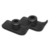 Drive Medical Walker Ski Glides, Black, 1 Pair 10110B