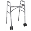 Walkers: Drive Medical - Heavy Duty Bariatric Two Button Walker with Wheels