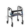Drive Medical Clever Lite Flame Blue Rollator Walker w/5 Casters 10230