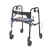 Drive Medical Clever Lite Flame Blue Junior Rollator Walker w/5 Casters 10230J