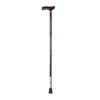 Drive Medical Lightweight Adjustable Folding Cane with T Handle 10304BF-1