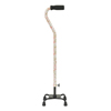 canes & crutches: Drive Medical - Small Base Quad Cane with Foam Rubber Hand Grip
