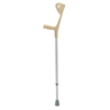 Drive Medical Euro Style Lightweight Silver Forearm Walking Crutch 10410
