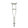 Drive Medical Walking Crutches with Underarm Pad and Handgrip 10416-1