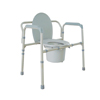 Drive Medical Heavy Duty Bariatric Folding Bedside Commode Seat 11117N-1