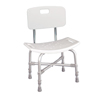 Drive Medical Bariatric Heavy Duty Bath Bench with Backrest 12021KD-1