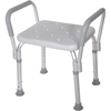 bathroom aids: Drive Medical - Knock Down Bath Bench with Padded Arms