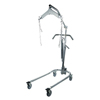 "patient lift: Drive Medical - Hydraulic Patient Lift with Six Point Cradle, 5"" Casters, Chrome"