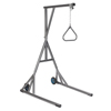 Rehabilitation: Drive Medical - Heavy Duty Trapeze with Base and Wheels, Silver Vein