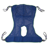 Drive Medical Full Body Patient Lift Sling w/Commode Cutout 13221L