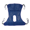 Drive Medical Full Body Patient Lift Sling w/Commode Cutout 13221M