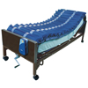 Mattresses Pressure Management Nonpowered: Drive Medical - Med Aire Low Air Loss Mattress Overlay System with APP, 5""