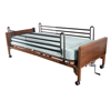 Beds & Bed Accessories: Drive Medical - Semi Electric Hospital Bed with Full Rails and Therapeutic Support Mattress