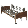 Beds & Bed Accessories: Drive Medical - Delta Ultra Light Semi Electric Hospital Bed with Full Rails