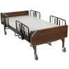 Beds & Bed Accessories: Drive Medical - Full Electric Bariatric Hospital Bed with Mattress and 1 Set of T Rails