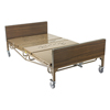 Beds & Bed Accessories: Drive Medical - Full Electric Heavy Duty Bariatric Hospital Bed, with Mattress and 1 Set of T Rails