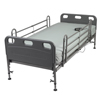 Beds & Bed Accessories: Drive Medical - Competitor Semi Electric Hospital Bed with Mattress
