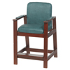 Drive Medical Wooden High Hip Chair 17100