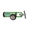 Drive Medical CGA 870 Oxygen Regulator 0-4 LPM Barb Outlet, Pediatric DRV 18300GN