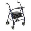 Drive Medical Mimi Lite Push Brake Walker Rollator 510