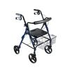 Drive Medical DLite Walker Rollator with 8 Wheels and Loop Brakes 750NB