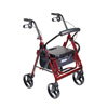 Safes Combo: Drive Medical - Duet Transport Wheelchair Walker Rollator
