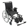 Rehabilitation: Drive Medical - Cougar Ultra Lightweight Rehab Wheelchair w/Detachable Adjustable Desk Arms & Elevating Leg Rest