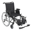 "Rehabilitation: Drive Medical - Cougar Ultra Lightweight Rehab Wheelchair, Elevating Leg Rests, 18"" Seat"