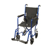 Drive Medical Lightweight Transport Wheelchair ATC17-BL