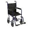 Drive Medical Lightweight Transport Wheelchair ATC19-BL