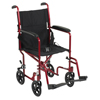 Drive Medical Lightweight Transport Wheelchair ATC19-RD