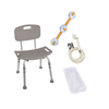 Drive Medical Shower Tub Chair Bathroom Safety Bundle BATHBUNDLE