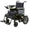 "Power Mobility: Drive Medical - Cirrus Plus HD Folding Power Wheelchair, 24"" Seat"