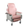 Drive Medical Clinical Care Geri Chair Recliner, Rosewood D577-R