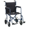 Drive Medical Flyweight Lightweight Transport Wheelchair FW19BL