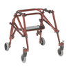 Inspired by Drive Nimbo 2G Lightweight Posterior Walker with Seat DRV KA2200S-2GCR