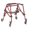 Inspired by Drive Nimbo 2G Lightweight Posterior Walker with Seat DRV KA3200S-2GCR