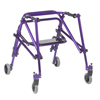 Inspired by Drive Nimbo 2G Lightweight Posterior Walker with Seat DRV KA3200S-2GWP