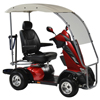 "Power Mobility: Drive Medical - King Cobra Personal Golf Vehicle Executive Power Scooter, 4 Wheel, 22"" Captain Seat"