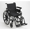 Drive Medical Viper Plus GT Wheelchair with Flip Back Removable Adjustable Arm PLA416FBFAARAD-SF