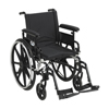 Drive Medical Viper Plus GT Wheelchair with Flip Back Removable Adjustable Arm PLA418FBFAARAD-SF