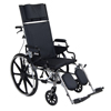 "IV Supplies Extension Sets: Drive Medical - Viper Plus GT 18"" Reclining Wheelchair w/Desk Arms"