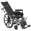 Drive Medical Viper Plus GT Full Reclining Wheelchair PLA418RBDFA