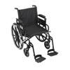 Drive Medical Viper Plus GT Wheelchair with Flip Back Removable Adjustable Arm PLA420FBDAARAD-SF
