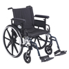Drive Medical Viper Plus GT Wheelchair with Flip Back Removable Adjustable Arm PLA420FBFAARAD-SF