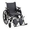 Drive Medical Viper Plus GT Wheelchair with Universal Armrests, Elevating Legrests, 22 Seat DRV PLA422FBUARAD-ELR