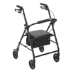 "drive medical: Drive Medical - Rollator with 6"" Wheels, Black"